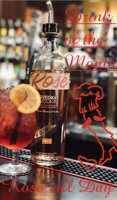 The drink of the Month - Rose' all Day